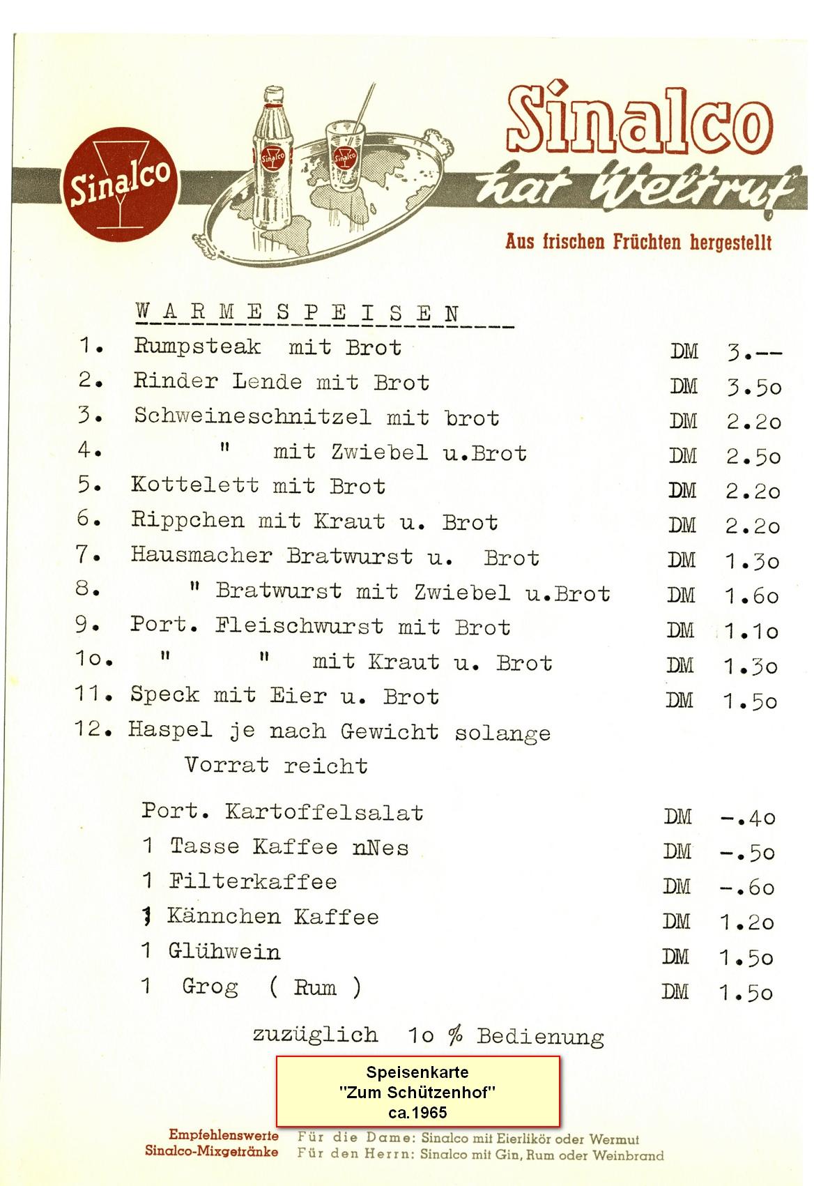 Datei:Speisen & Getränkekarte 1965 Schützenhof 3.jpg – Wiki-Langen